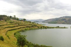 Lake Bunyonyi Stock Images