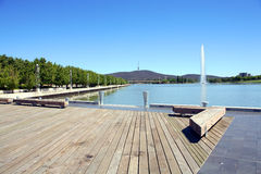 Lake Burley Griffin Royalty Free Stock Photos