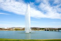 Lake Burley Griffin Royalty Free Stock Photo