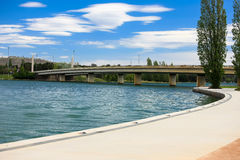Lake Burley Griffin, Canberra, Australia Stock Photography
