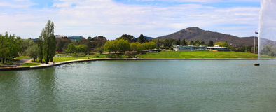 Lake Burley Griffin, Canberra, Panorama Stock Photos