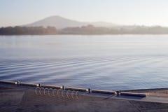 Lake Burley Griffith. Early morning, shot on Tilt Shift lens, Lake Burley Griffith, Canberra, Australian Capital Territory, Australia Royalty Free Stock Image