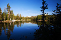 Lake Butterfly Utah. Scenic view of lake Butterfly in summer, Unita National Forest, Utah, U.S.A stock photos