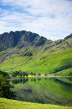 Lake Buttermere in English Lake District Royalty Free Stock Photos