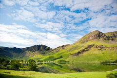Lake Buttermere in English Lake District Royalty Free Stock Image