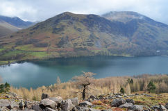Lake Buttermere in the Lake District. National Park, Cumbria, England Stock Photo