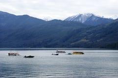 Lake Caburgua, commune Pucon, Chile Royalty Free Stock Photography