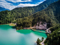 Lake of Cadore Stock Images