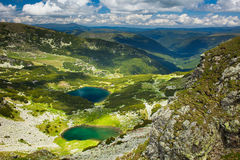 Lake Calcescu in Romania Royalty Free Stock Images