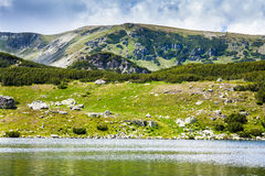 Lake Calcescu in Romania Royalty Free Stock Image