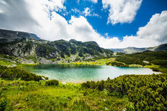 Lake Calcescu in Romania Stock Photos