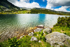 Lake Calcescu in Romania Stock Photo