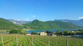 Lake Caldaro, Trentino Alto Adige Stock Images