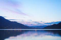 Lake Caldonazzo in Italy Royalty Free Stock Photo