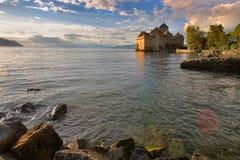 On lake a calm Stock Image