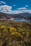 Lake camporredondo in Palencia, Castilla y León, Spain. Lake camporredondo in Palencia, Castilla y León, Spain royalty free stock photo