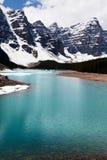 Lake in Canada. Moraine lake in Canada Stock Photo