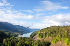 Lake in Canada. Moraine lake in Canada Stock Photos