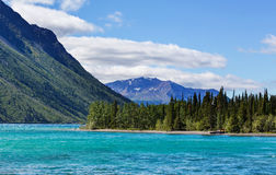 Lake in Canada Stock Images