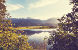 Lake in Canada Royalty Free Stock Images