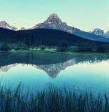 Lake in Canada Royalty Free Stock Photos