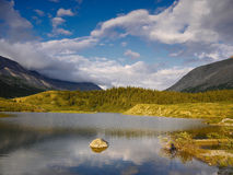 Lake Canadian Rockies Royalty Free Stock Photography