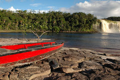 Lake in Canaima Stock Image