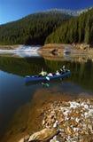 Lake Canoeing stock photo