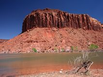 Lake in Canyonlands Royalty Free Stock Images