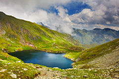 Lake Capra in Romania Stock Photos