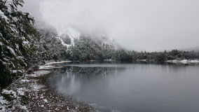 Lake Cascata de los Cantaros Imagenes de archivo