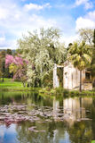 Lake at Caserta royalty free stock images