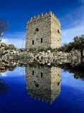 Lake castle Stock Photography