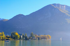 Lake of Annecy Stock Images