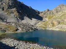 Lake in the Caucasus. Karachay-Cherkessia, Russia Royalty Free Stock Image