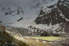 Lake in Caucasus Royalty Free Stock Photos