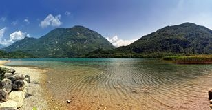 Lake of cavazzo(italy) Royalty Free Stock Photos