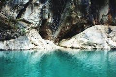 Lake Cave Entrance Stock Photos