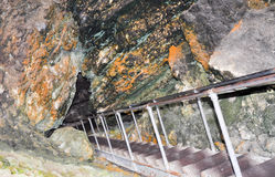 Lake Cave Entrance Royalty Free Stock Photo
