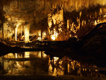 Lake Cave, Margaret River, Western Australia Stock Images