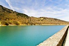 Lake in central Greece Stock Photo