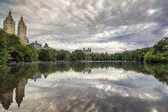 Lake Central Park, New York City Royalty Free Stock Images