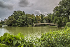 At the lake in Central Park Royalty Free Stock Photo