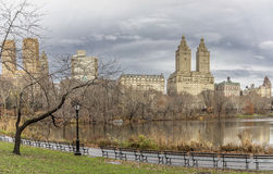 At the lake Central Park Royalty Free Stock Photo