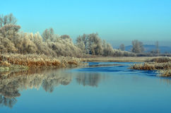 Lake Cerknica. Is the largest disappearing lake in Slovenia Royalty Free Stock Photography