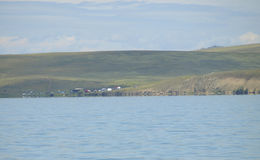 Lake Chagytay. Tuva. Royalty Free Stock Photo