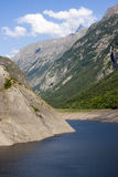 Lake Chambon landscape. In Grenoble, France stock photos