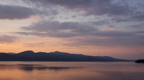 Lake Champlain Horizon Stock Photography