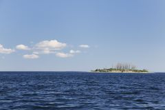 Lake Champlain - One of the Four Brothers Royalty Free Stock Photo
