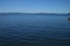 Lake Champlain of Vermont - Blue Water Royalty Free Stock Photography